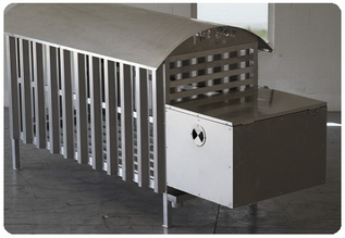 outdoor dog kennel and dog run